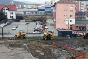 O noua parcare pe Soseaua Sibiului