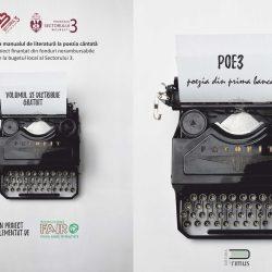 Proiectul POE3 – de la manualul de literatură la poezia cântată