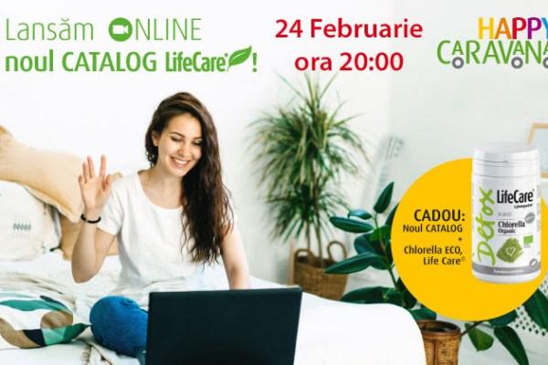 Lansarea online a noului Catalog Life Care