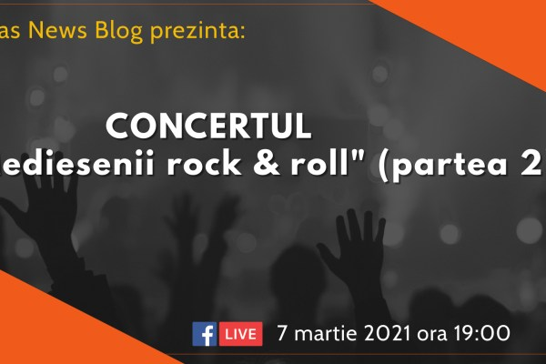 "Concert online ""Medieşenii rock and roll"" (part 2)"