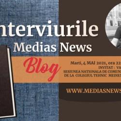 Prof. dr. Vasile Mărculeţ la Interviurile Medias News Blog (video)