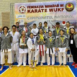 Medieşeni pe podium la Campionatul Naţional Karate WUKF