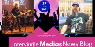 Florin Grigoraş (RIFF)  la Interviurile Mediaş News Blog (video)