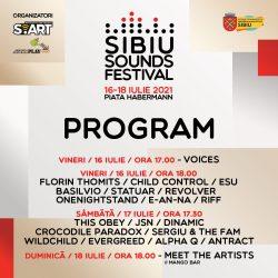 Program şi reguli de acces la Sibiu Sounds Festival 2021