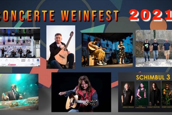 Weinfest Mediaș 2021 – Concertele