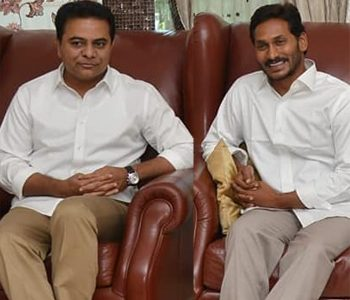 KTR and Jagan Holds 'Preliminary Talks' over Federal Front
