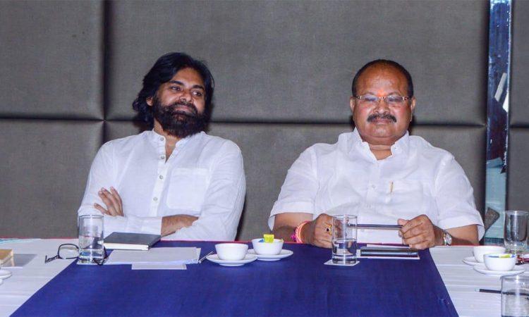 Pawan And Kanna Press Meet In Vijayawada