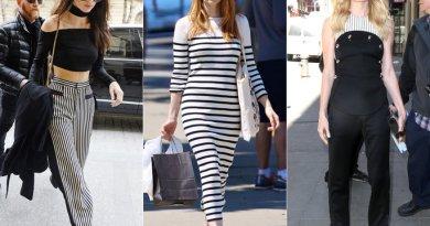 Pruhovaný styl oblečení nikdy nevyjde z módy