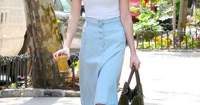 riflové sukně podle typu těla