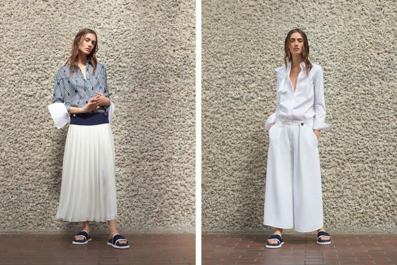 Všechny modely z kolekce jaro 2017 od Victoria Beckham