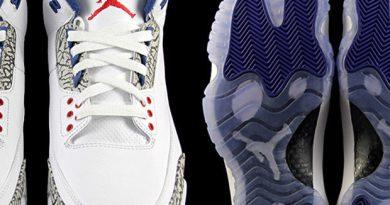 Nike tenisky Air Jordan 3 True Blue pro celou rodinu