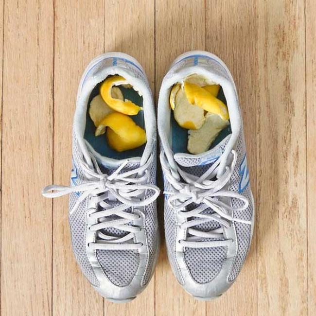 Jak se zbavit zápachu obuvi