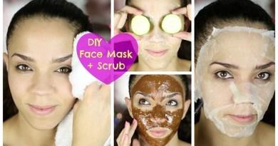 Jednoduchá čistící obličejová maska proti akné
