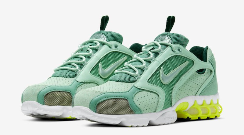 Tenisky Nike Air Zoom Spiridon Caged Pistachio Frost