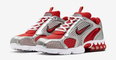 Tenisky Nike Air Zoom Spiridon Caged Varsity Red