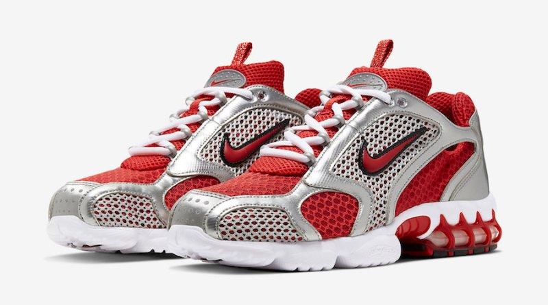 Tenisky Nike Air Zoom Spiridon Caged Varsity Red