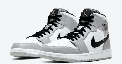 Tenisky Air Jordan 1 Mid Light Smoke Grey