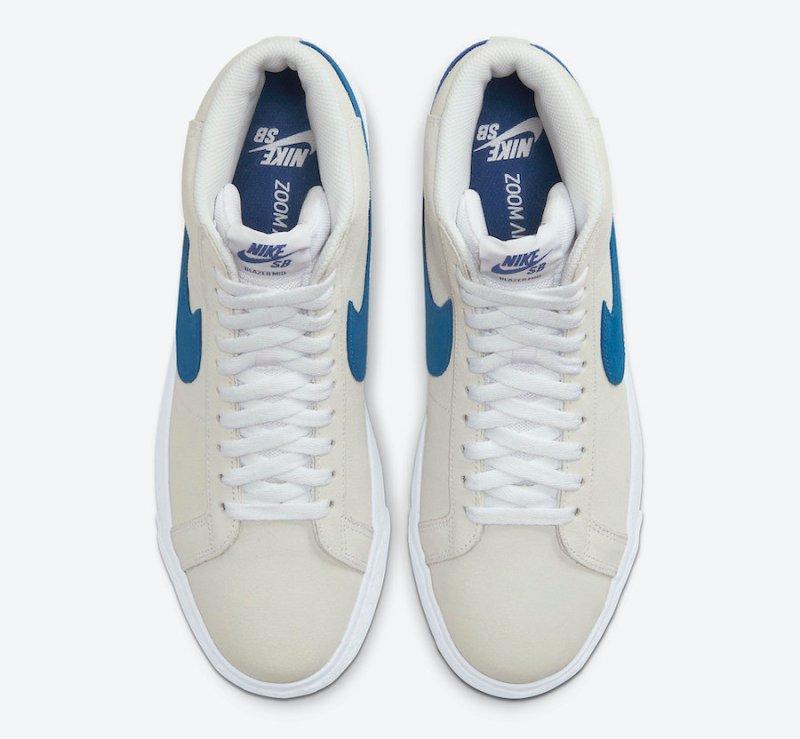 Tenisky Nike SB Blazer Mid Laser Blue