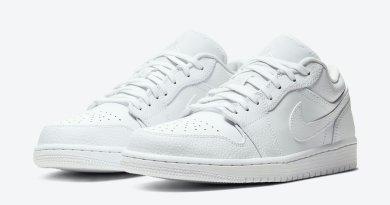Tenisky Air Jordan 1 Low Triple White 553558-130