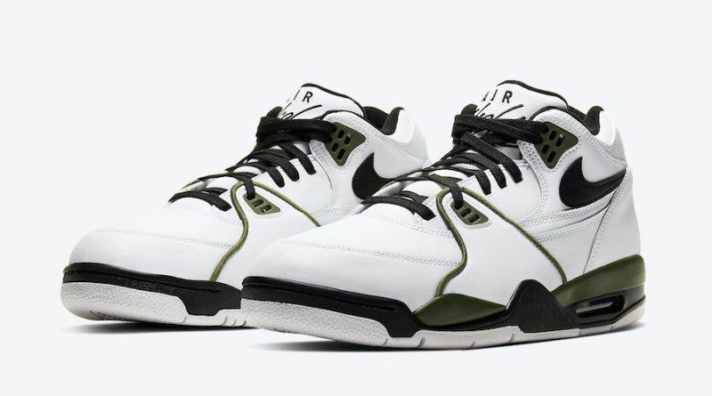 Tenisky Nike Air Flight 89 White Olive CJ5390-101