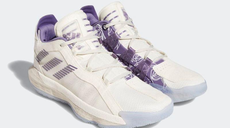 Tenisky adidas Dame 6 Tech Purple FU9448