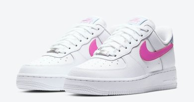 Tenisky Nike Air Force 1 Low Fire Pink Swoosh