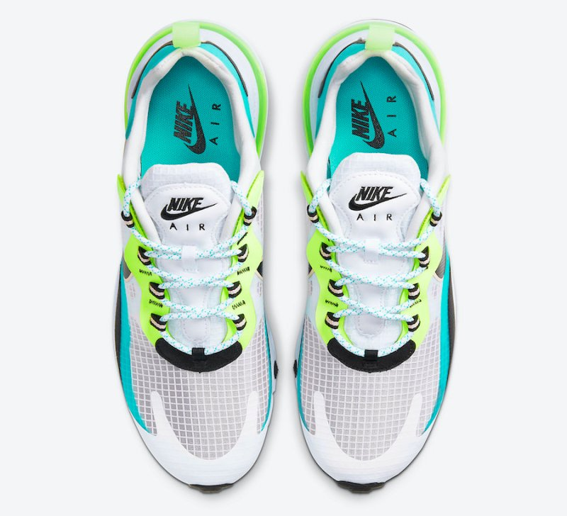 Tenisky Nike Air Max 270 React SE Oracle Aqua