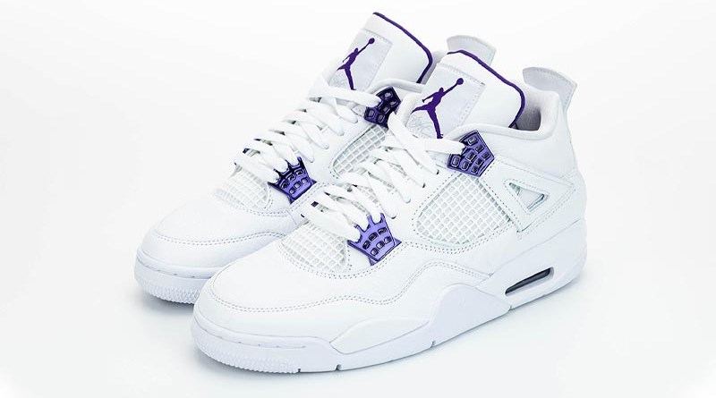 Tenisky Air Jordan 4 Purple Metallic CT8527-115