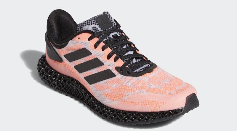 Tenisky adidas 4D Run Black Coral FW6839