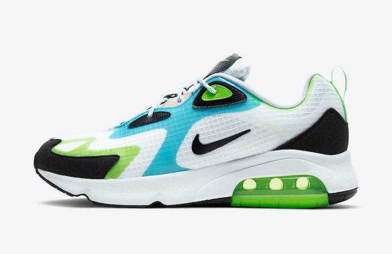 Tenisky Nike Air Max 200 SE Oracle Aqua CJ0575-101