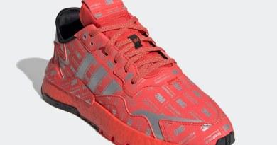 Tenisky adidas Nite Jogger Reflective Red FV3621