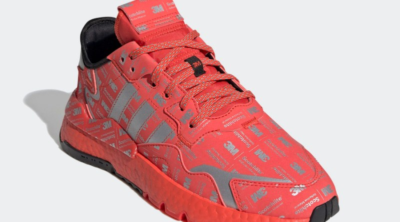 Tenisky adidas Nite Jogger Reflective Red FV3621
