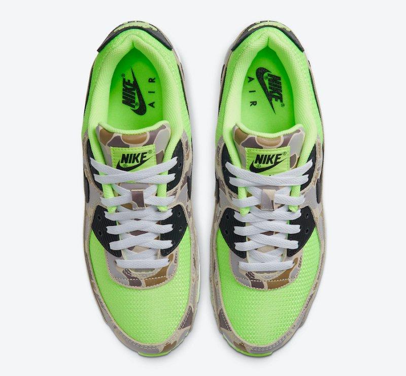 Tenisky Nike Air Max 90 Volt Duck Camo CW4039-300