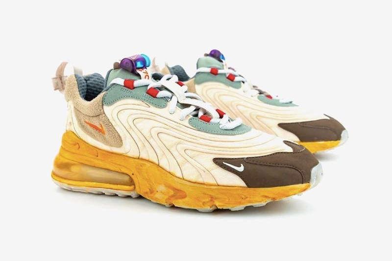 Tenisky Travis Scott x Nike Air Max 270 React CT2864-200
