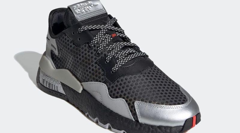 Tenisky adidas Nite Jogger Black Silver EF5407