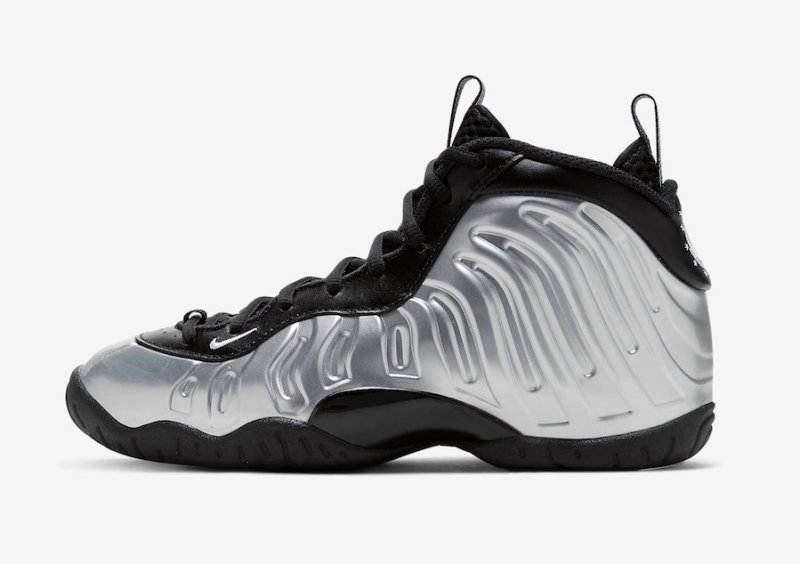 Tenisky Nike Little Posite One Chrome CN5268-001