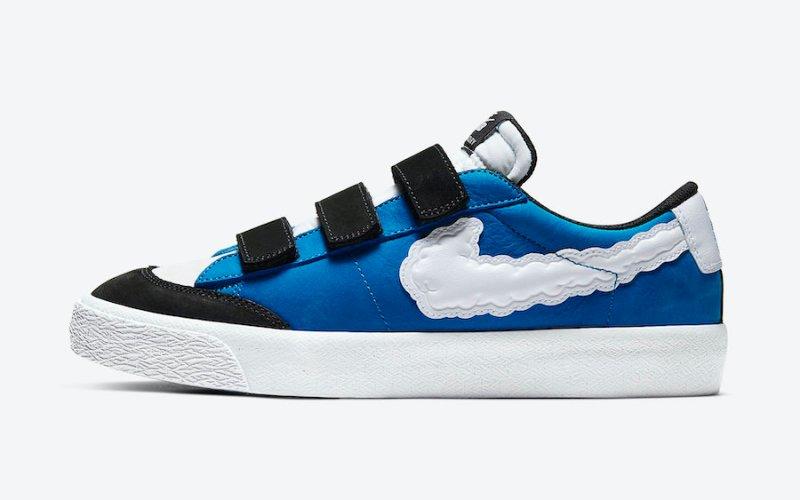 Tenisky Kevin Bradley x Nike SB Blazer Low CT4594-400