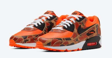 Tenisky Nike Air Max 90 Orange Camo CW4039-800