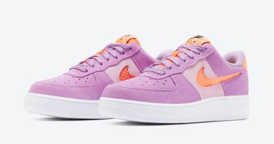 Tenisky Nike Air Force 1 Violet Star CJ1647-500