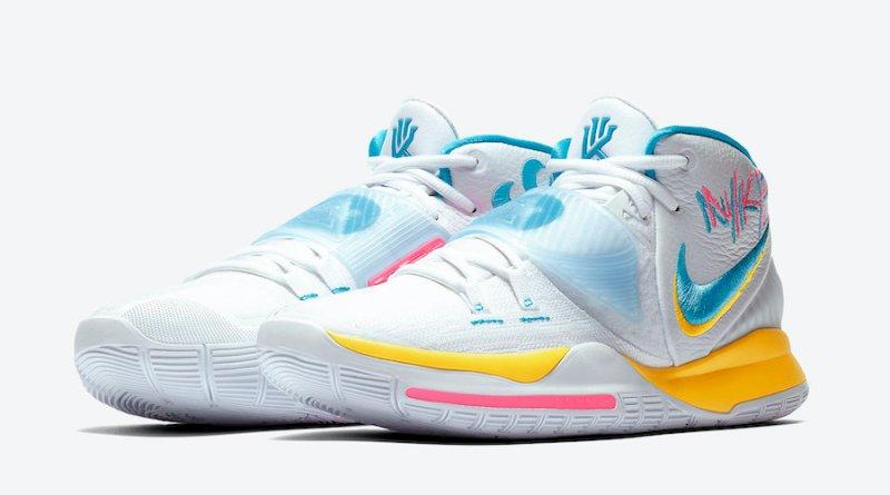Tenisky Nike Kyrie 6 Neon Graffiti BQ4630-101