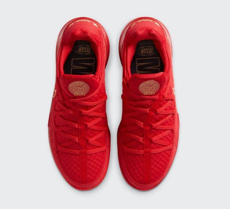 Tenisky Titan x Nike LeBron 17 Low CD5008-600