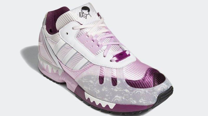 Tenisky Hey Tea x adidas ZX 6000 White Pink FZ4401