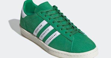 Tenisky Human Made x adidas Campus Green FY0732