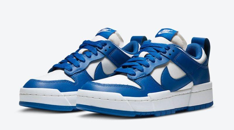Tenisky Nike Dunk Low Disrupt White Blue CK6654-100
