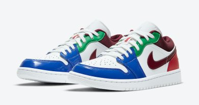 Tenisky Air Jordan 1 Low Multi Color DB5455-100