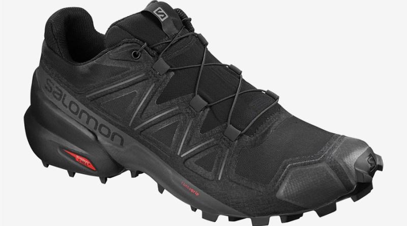 Pánské černé trailové tenisky a boty Salomon Speedcross 5 Black/Black/Phantom 406840 nízké běžecké botasky a obuv Salomon