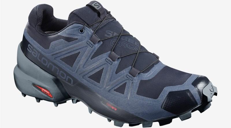 Pánské modré tenisky a boty Salomon Speedcross 5 GTX GORE-TEX Navy Blazer/Stormy Weather/Sargasso Sea 407963 běžecké botasky a obuv Salomon
