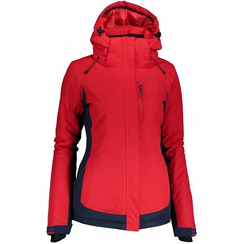 Dámská lyžařská bunda Alpine Pro Raha červená