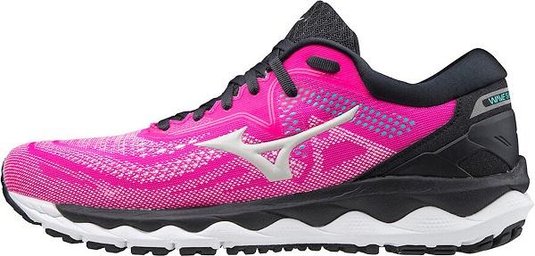 Běžecká dámská obuv Mizuno Wave Sky 4 J1GD200246 růžové