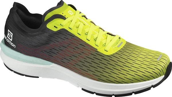 Běžecká pánská obuv Salomon Sonic 3 Accelerate L41126900 zelené